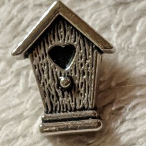 Little Bird House Pin With Book Marker